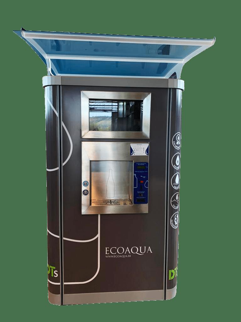 Fontaine à eau filtrée d'extérieur smart ecoaqua original destiné aux camping, aux parc à thèmes, aux festivals ou au secteur public