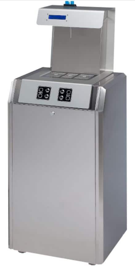 Fontaine à eau filtrée d'intérieur smart ecomagna vending pour le secteur du retail ou du vending (station essence)